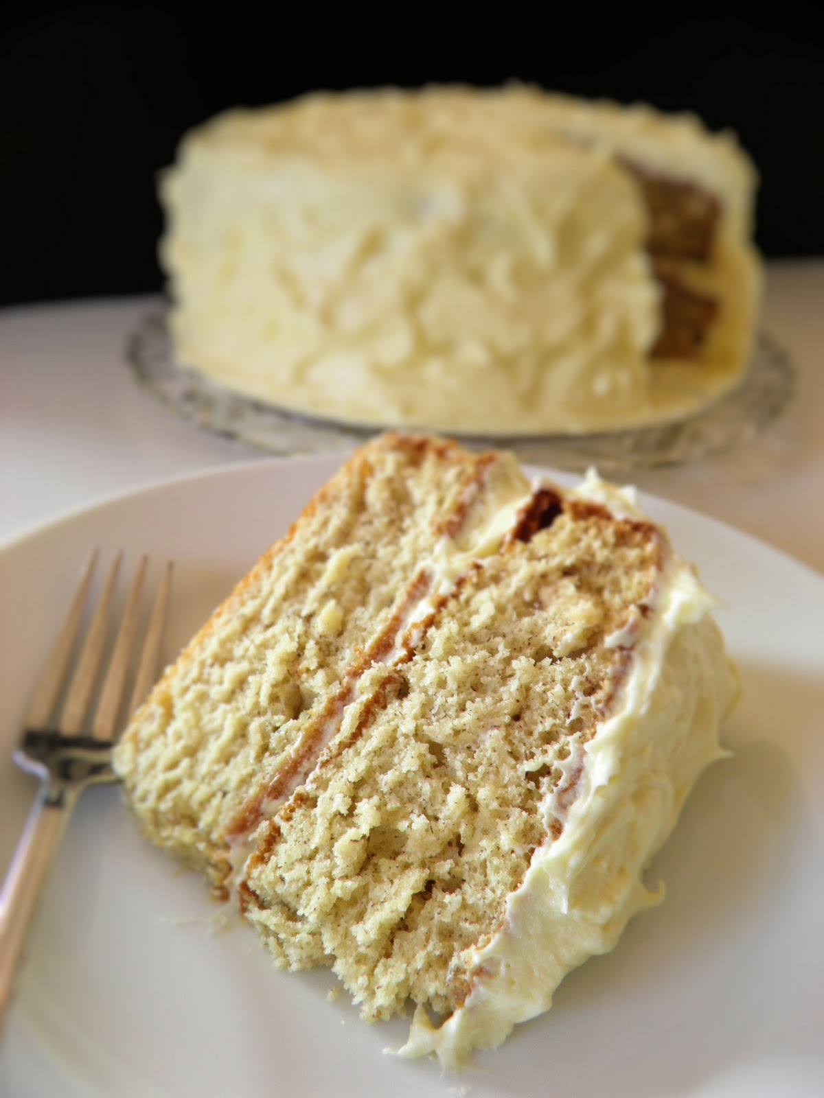 banana-cake-with-rum-cream-cheese-frosting-dulce-dough-recipes