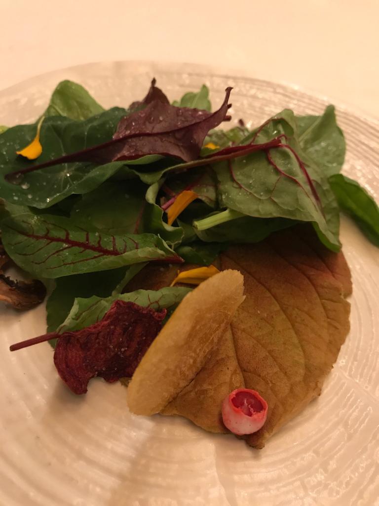 Leaf foei gras